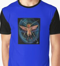 Fiery Wheel-Being Graphic T-Shirt