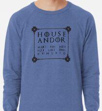 House Andor - black Lightweight Sweatshirt