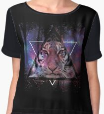 Wood Tiger Women's Chiffon Top