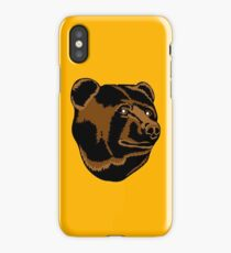 Bruins Pooh Bear iPhone Case