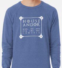 House Andor - white Lightweight Sweatshirt