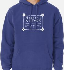 House Andor - white Pullover Hoodie