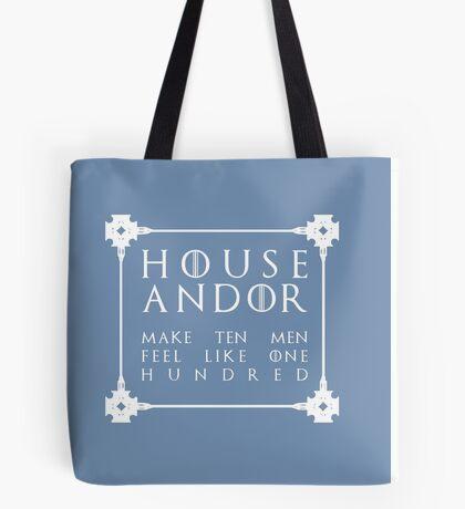 House Andor - white Tote Bag