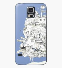Howl's Moving Castle Case/Skin for Samsung Galaxy