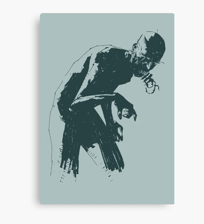 Ghoul Canvas Print