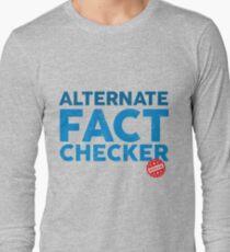 OFFICIAL ALTERNATE FACT CHECKER Long Sleeve T-Shirt