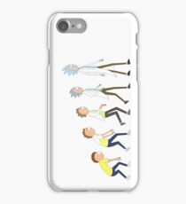 Rick and Morty- Evolution iPhone Case/Skin