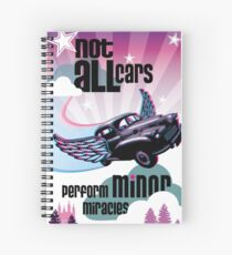 A Morris Minor Classic - Minor Miracles Spiral Notebook