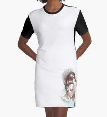 Emotions Graphic T-Shirt Dress