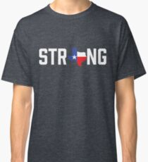 Texas State Strong Red White & Blue Classic T-Shirt