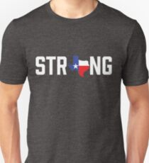 Texas State Strong Red White & Blue T-Shirt