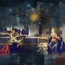 The Annunciation - 1st Joyful Mystery of the Rosary by laxwings