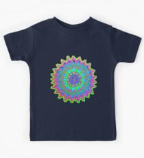 Abstract Color Explosion Kids Tee