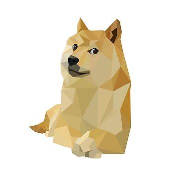Poly Doge by Maya-mae