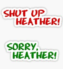 Heathers Frenemy Stickers Sticker