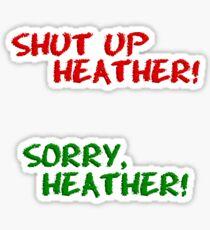 Heathers Frenemy Stickers Sticker