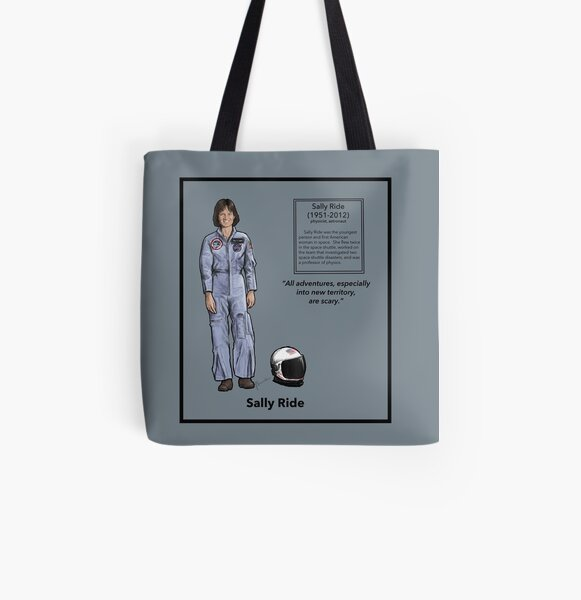 Sally Ride All Over Print Tote Bag