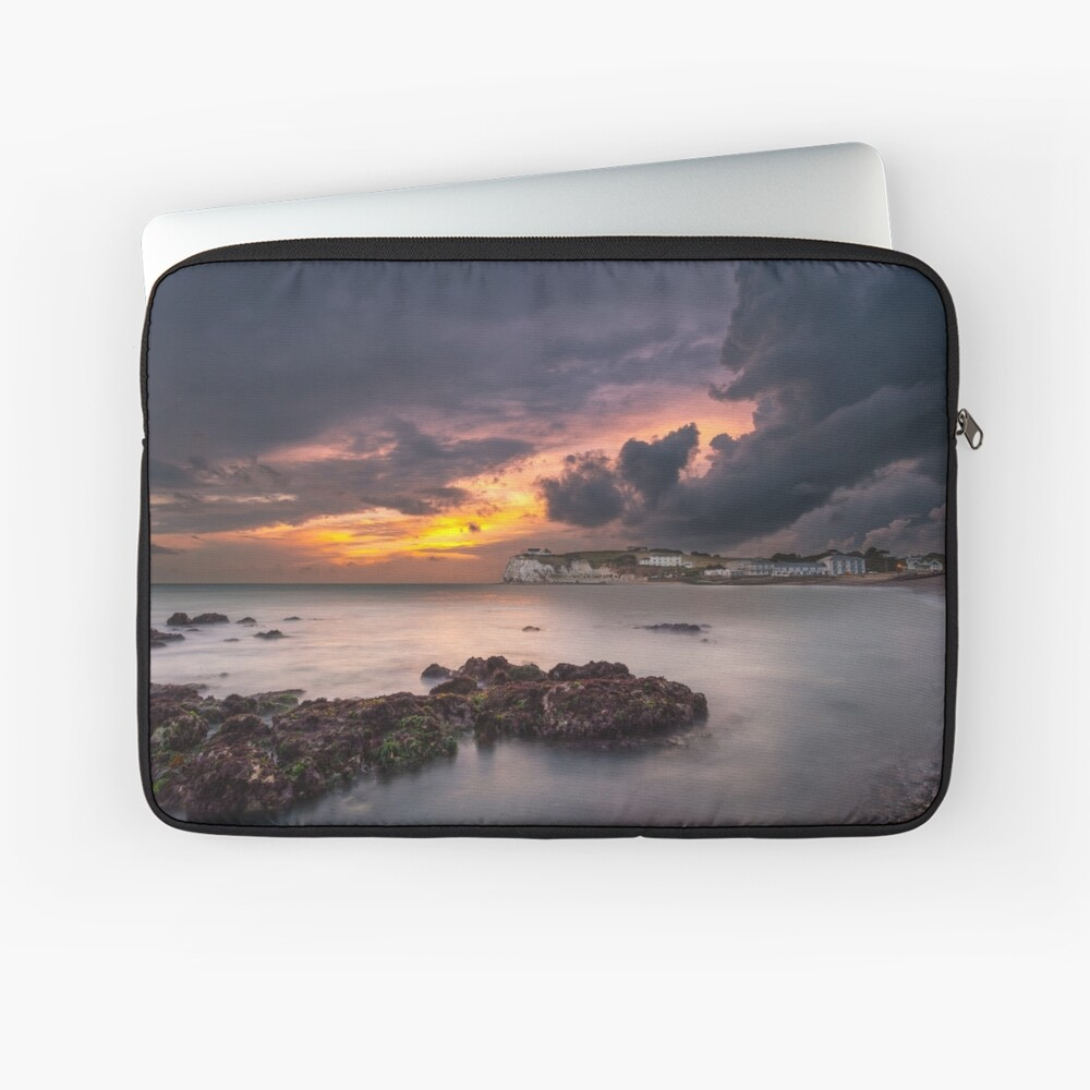 Storm At Freshwater Bay Laptop Sleeve