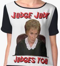 Judge Judy Judges You Women's Chiffon Top