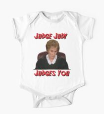 Judge Judy Judges You One Piece - Short Sleeve