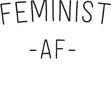 Feminist AF by inspires
