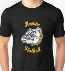 Ampipe High School Bulldogs Mascot Football Team Unisex T-Shirt