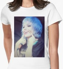 alice glass crystal castles Women's Fitted T-Shirt