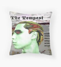 The Tempest Full Fathom Five thy Father Lies Throw Pillow