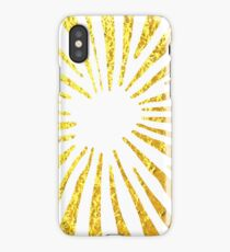 Gold Daisies iPhone Case
