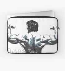 Arnold Schwarzenegger - Double Rear Biceps Laptop Sleeve