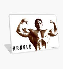 Arnold Schwarzenegger - Front Double Biceps Pose Laptop Skin