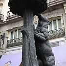 The Bear and the Madroño Tree Statue by Saranet