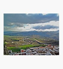 Small Town in Spain Photographic Print