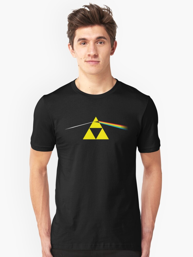 The Dark Side of the Triforce Unisex T-Shirt Front