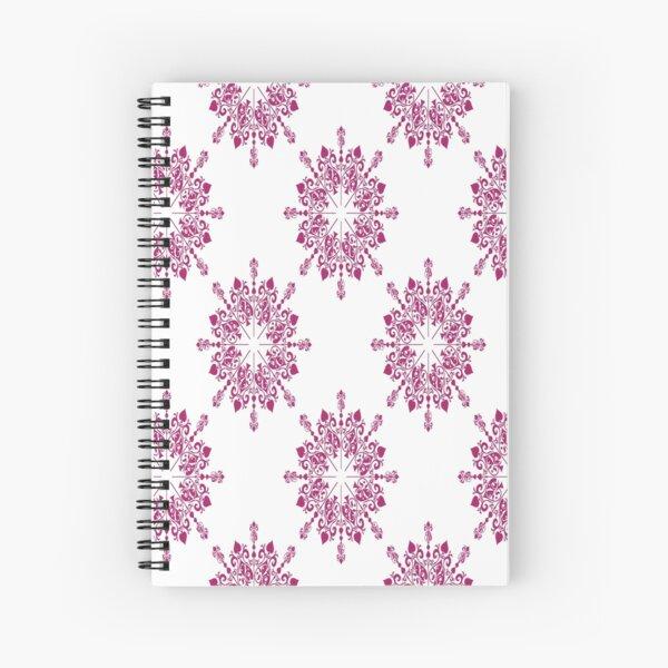 Spirit of Wonderland offset Lace in Pink Spiral Notebook