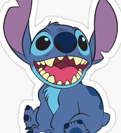 Stitch stickers redbubble for Stickers juveniles