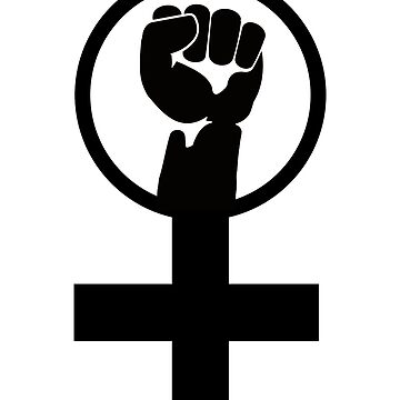 Feminist Women's Power Symbol by LGBT