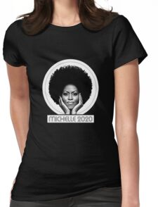 michelle michelle obama Womens Fitted T-Shirt