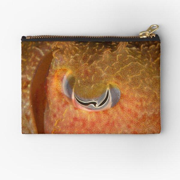 Eye of Giant Cuttlefish - Sepia apama Zipper Pouch