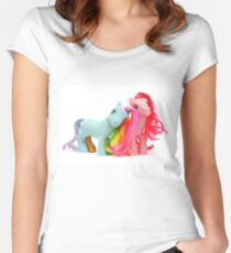 My Little Pony Friends 1 Women's Fitted Scoop T-Shirt