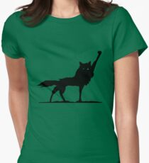 Fantastic Wolf Womens Fitted T-Shirt