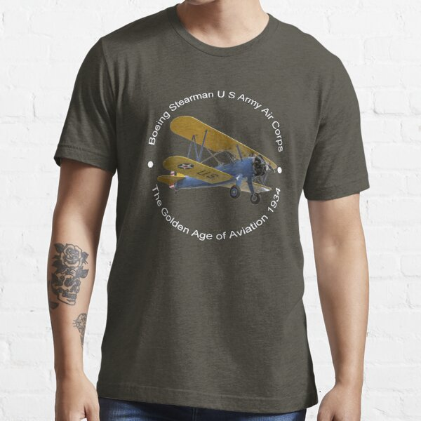 Boeing Stearman US Army Air Corps Essential T-Shirt