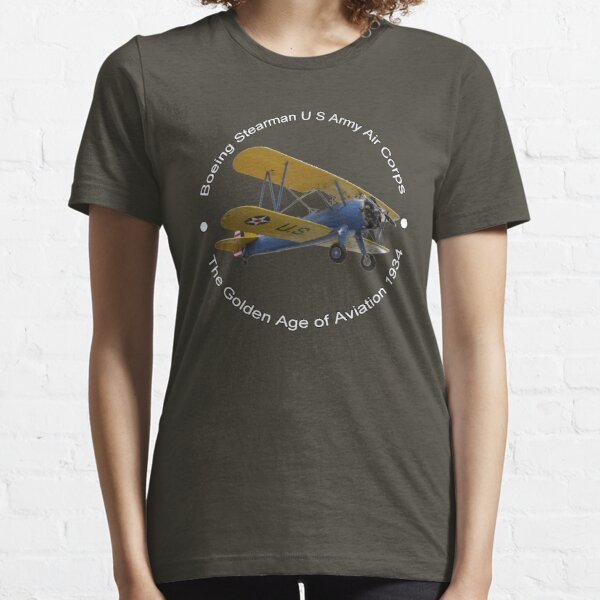 Boeing Stearman US Army Air Corps Essential T-Shirt