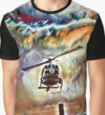 Bell UH-1 Huey in Fantasy Flight Graphic T-Shirt