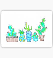 Pretty cactus Sticker