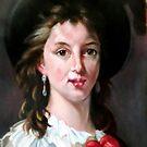 study woman after Élisabeth Vigée Le Brun by Hidemi Tada