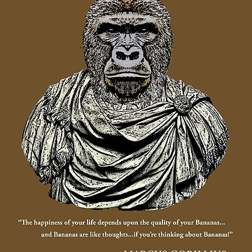 Marcus Gorillius - The Stoic Gorilla by GUS3141592