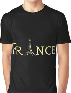 France Eiffel Tower Graphic T-Shirt