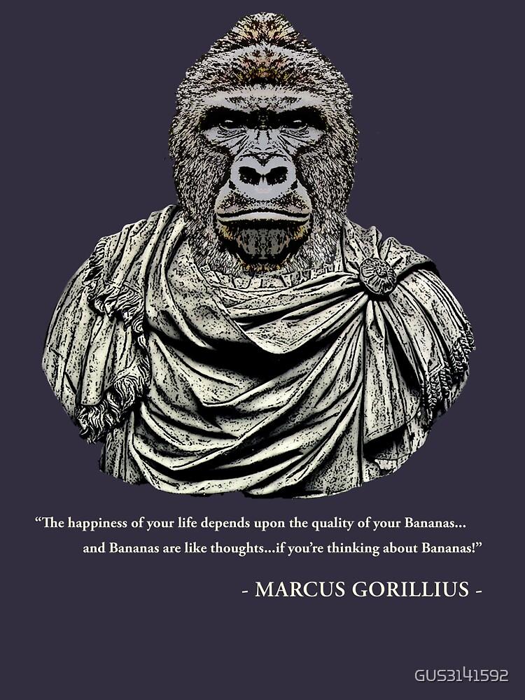 Marcus Gorillius - The Stoic Gorilla by GUS3141592