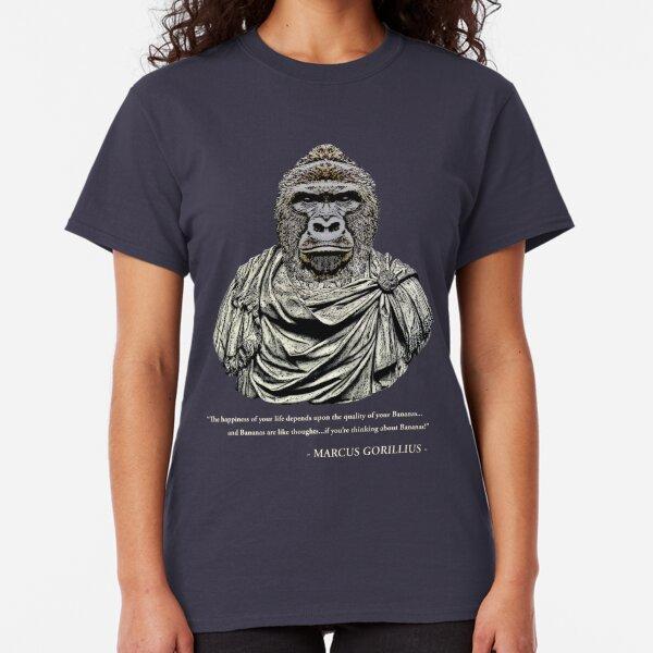 Marcus Gorillius - The Stoic Gorilla Classic T-Shirt